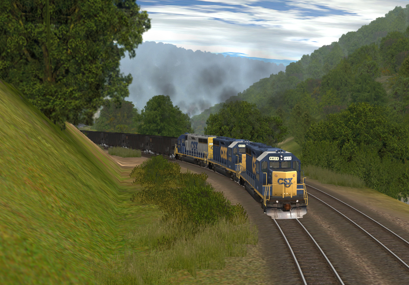 EK3 on Trainz